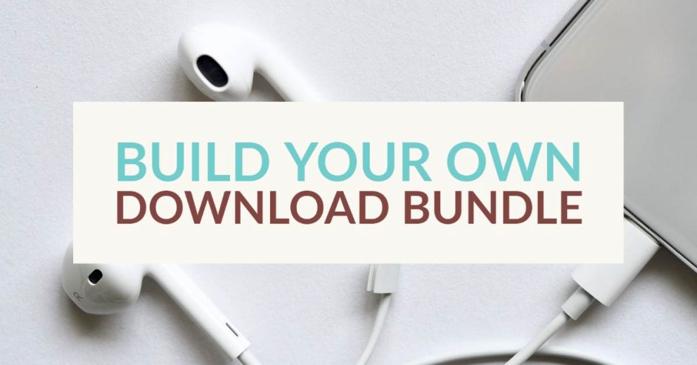 Build download bundle and save