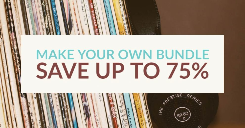 Make your own download bundle save up to 75%