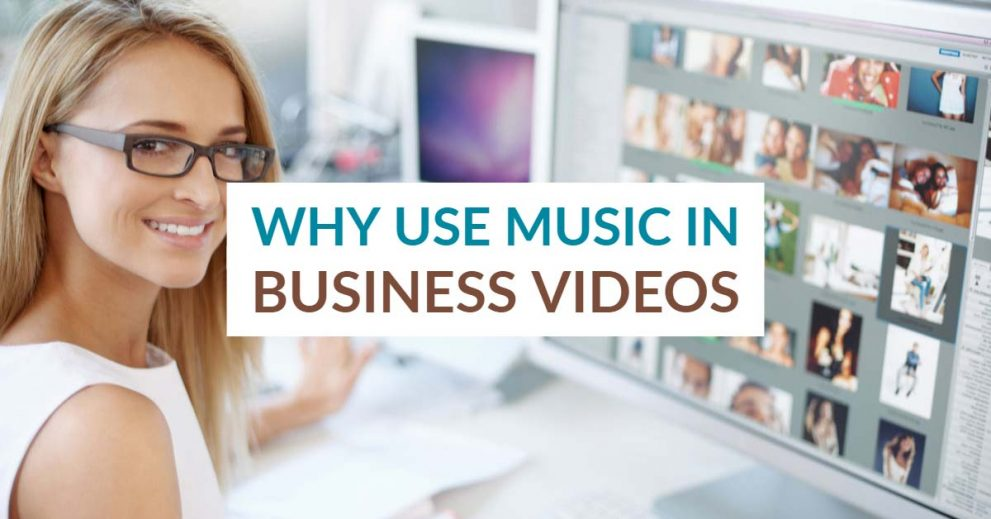 why video creators use music in business videos