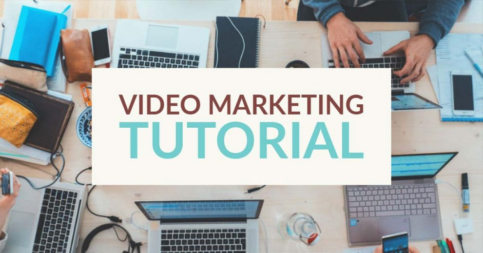 My Top 5 Favorite Video Marketing How-To Tutorials For Beginners