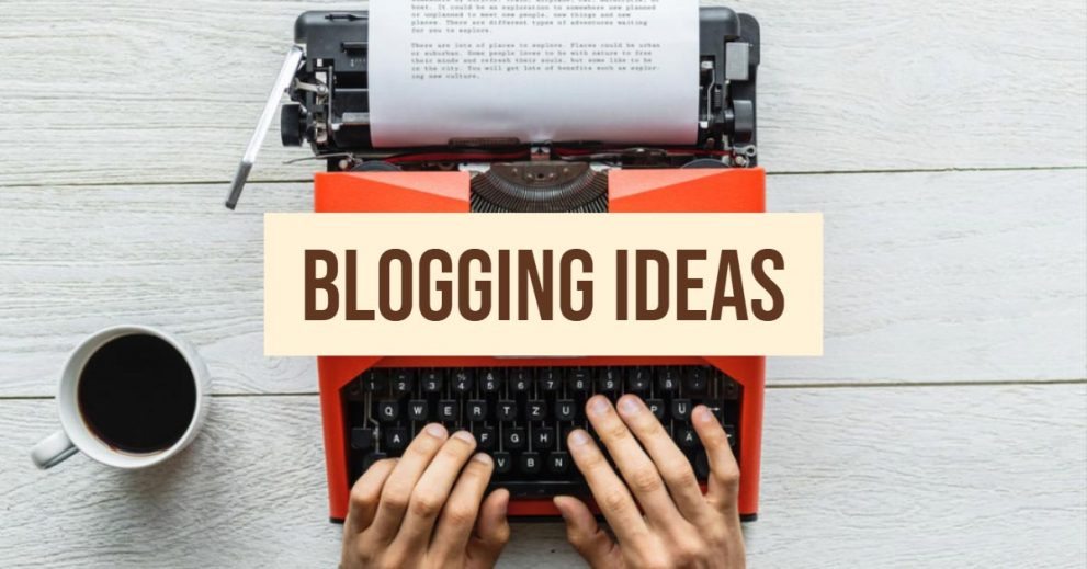 Looking for a great topic for your blog post? Here's an idea!