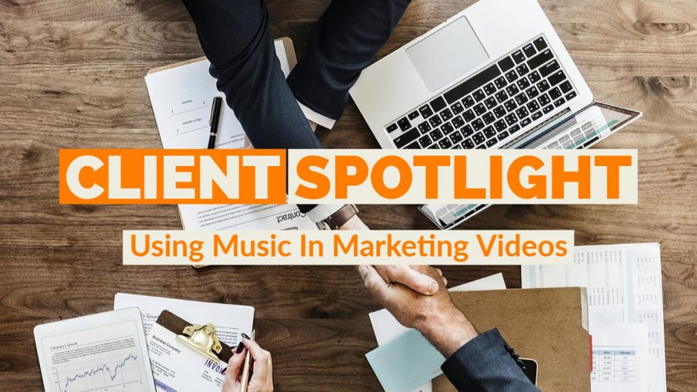 client spotlight royalty free music marketing video