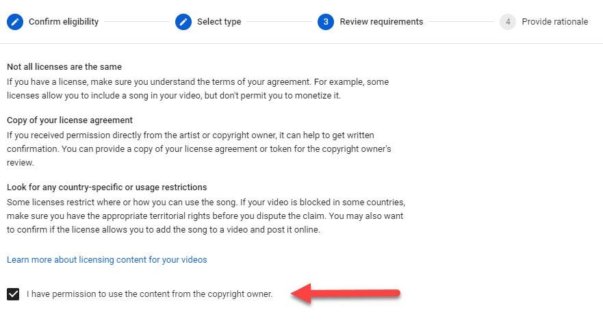 dispute copyright