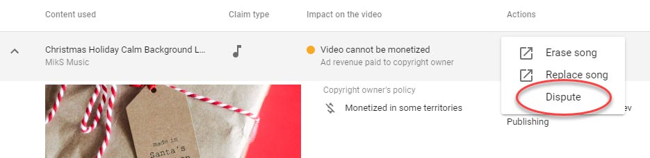 How to Dispute YouTube Background Music Copyright Claims