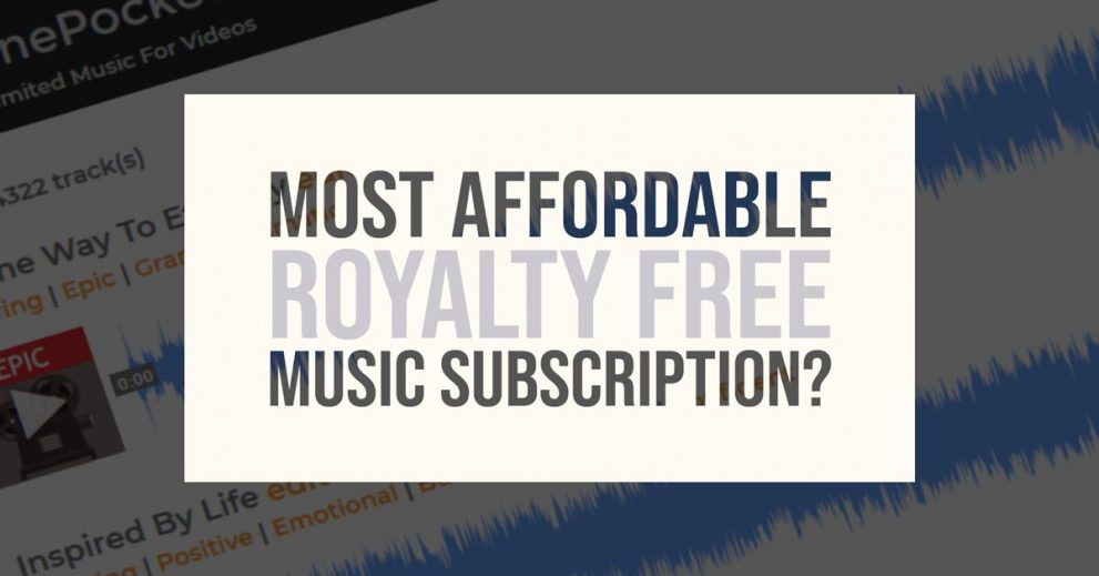 Most Affordable Royalty Free Music Subscription? TunePocket Review